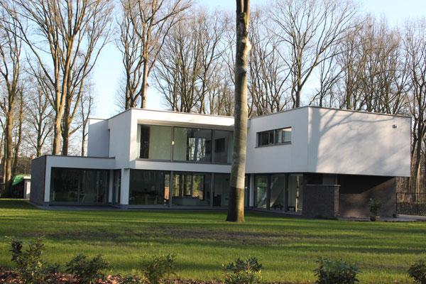 Villabouw moderne villabouw de bruycker construct for Moderne villabouw